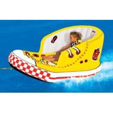 Надувная ватрушка для детей - Sportsstuff Tow Shoe (Kids Cruizer) - цвет жёлтый 53-1902