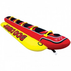 Надувной банан для буксировки пятиместный HD-5 Jumbo dog